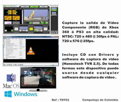 computoys capturadora externa mac os rca-rgb qtrt03q ztrt03