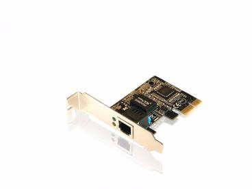 comtac placa de rede pci express x1 low profile - 9208