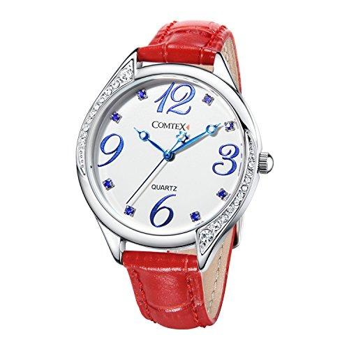 Relojes rojos para mujer