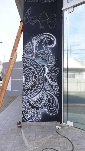 comunicação visual (grafite, letreiros)