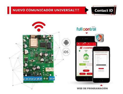 comunicador backup universal ip dx full wifi celular