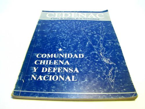 comunidad chilena defensa nacional cedenac
