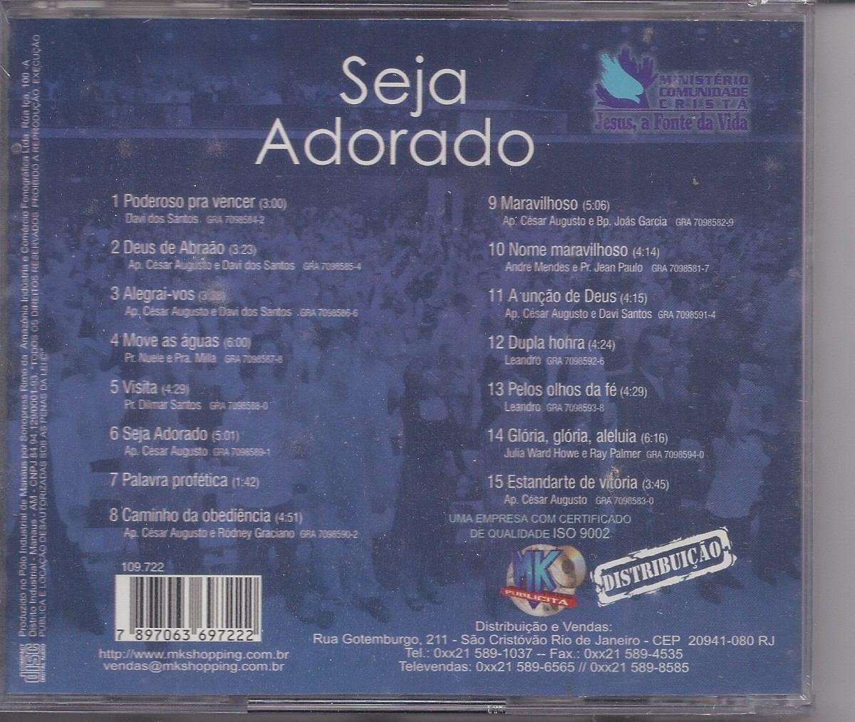 DOWNLOAD ADORADO GOIANIA COMUNIDADE CD DE GRATUITO SEJA - CRISTA