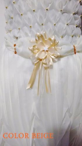 comunion corto vestido primera