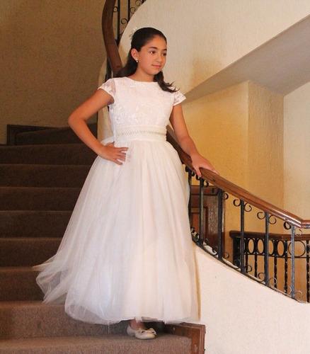 comunion niña vestido