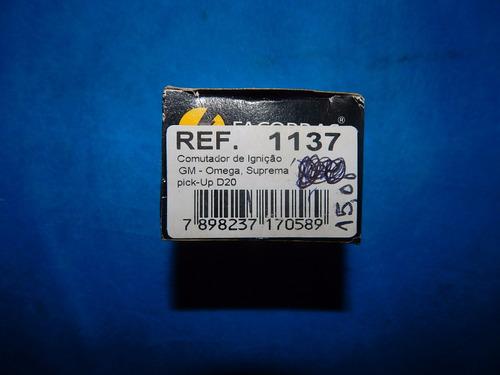 comutador ignição facobras 1137 gm omega-suprema/pickup d20