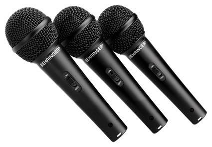 con behringer microfonos
