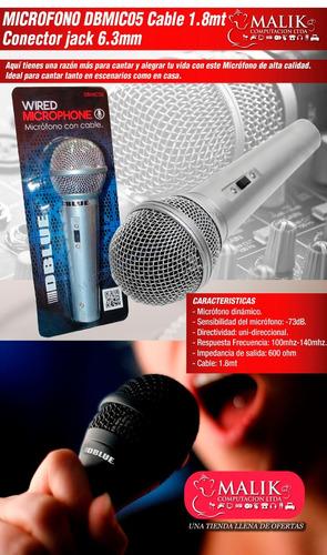 con cable microfono