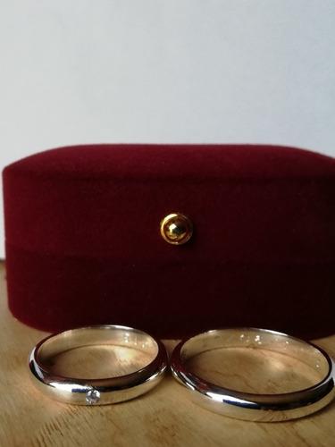 con circon, anillo plata