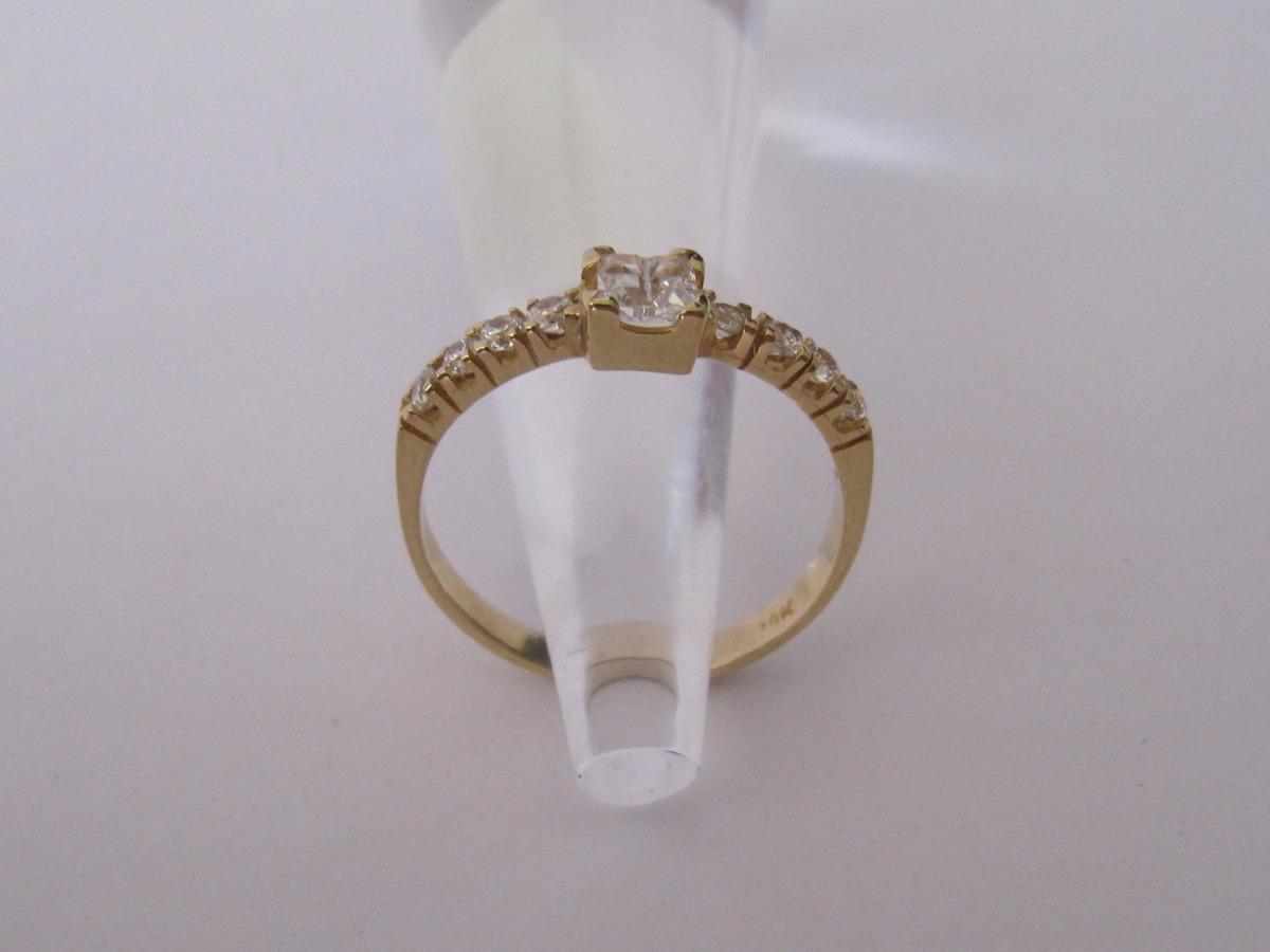 3f6674175cfe Anillo De Oro Con Lindos Circones Suizos -   103.000 en Mercado Libre