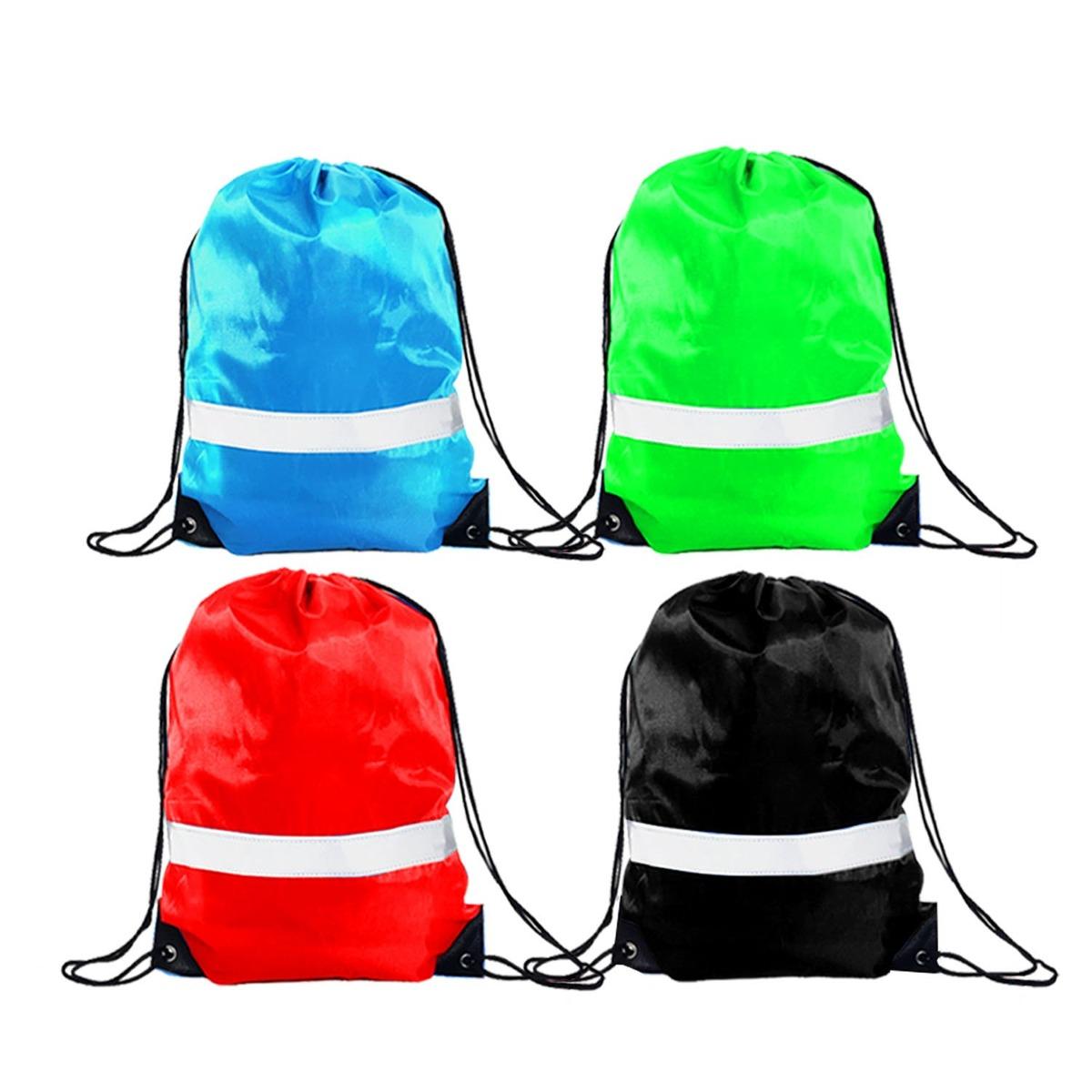 47e47aba2dcb9 con cordón reflexivo mochila bolsas - saco mochila deporte. Cargando zoom.