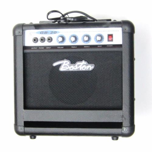 con correa combo bajo jazz electrico amplificador 20 vatios