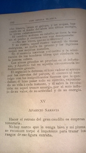 con divisa blanca -javier de viana - 1904 - 1a. edición