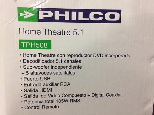 con dvd home theater
