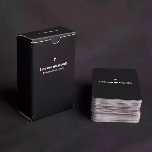 con eso no se jode - cartas - humor negro- hay stock siempre
