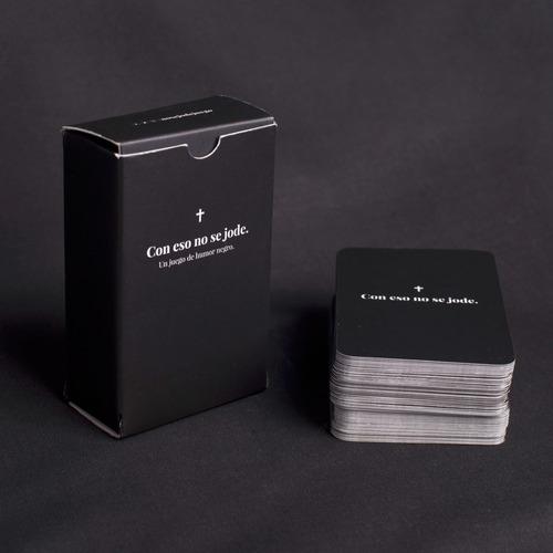 con eso no se jode - juego de cartas de humor negro