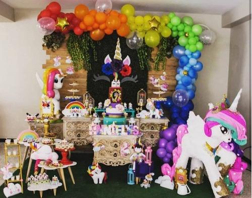 con globos decoracion