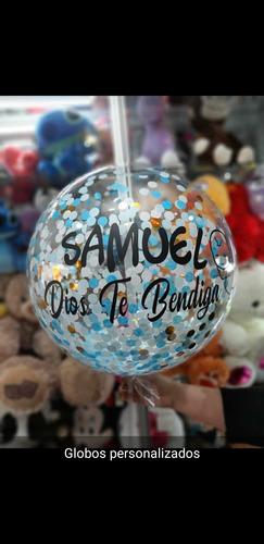 con globos globos con