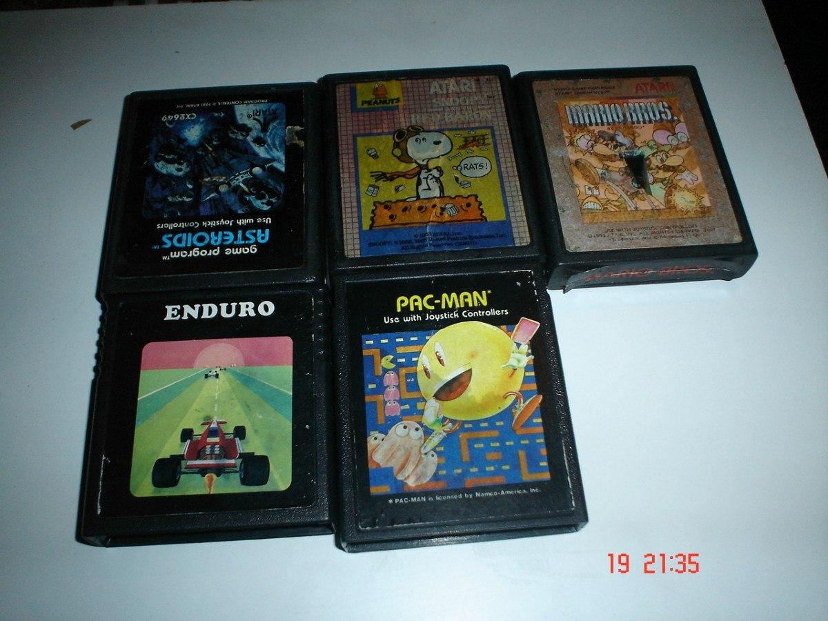Atari 2600 Consola Con Un Control Y 6 Juegos 1 200 00 En Mercado
