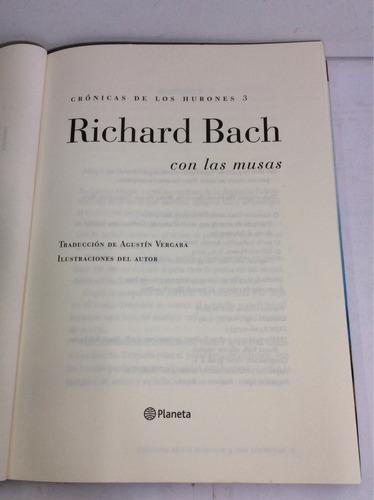 con las musas, richard bach, crónicas de los hurones 3