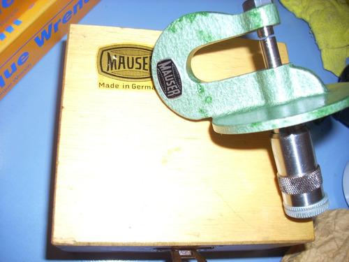 con medicion micrometro