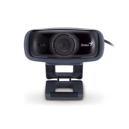 con microfono webcam genius