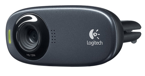 con micrófono webcam logitech
