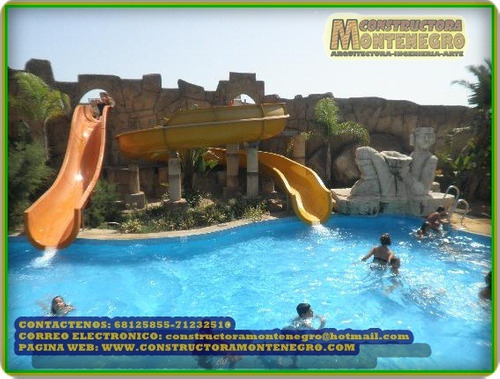 con mucha experiencia en la construccion de parques acuatico