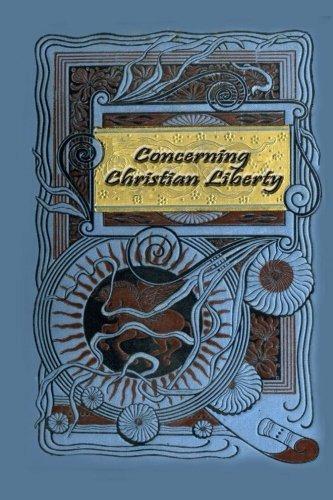 con respecto a la libertad cristiana