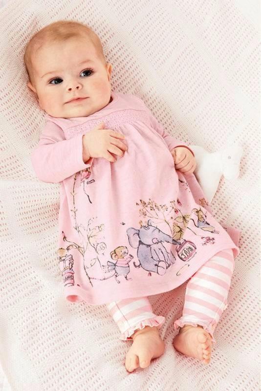 Pijama rosa con elefantes 4 6 meses ropa de beb rosa en mercado libre - Camitas para bebes ...