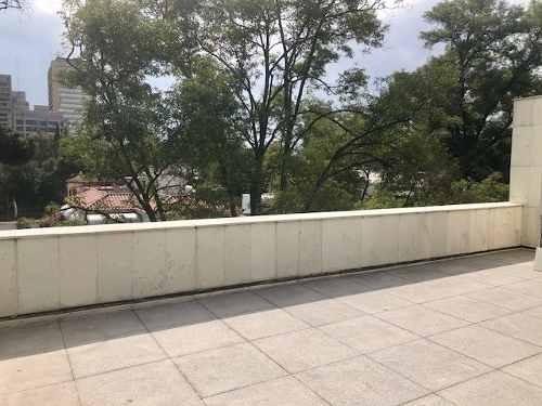 con terraza caminando del parque lincoln (recibo fiscal)