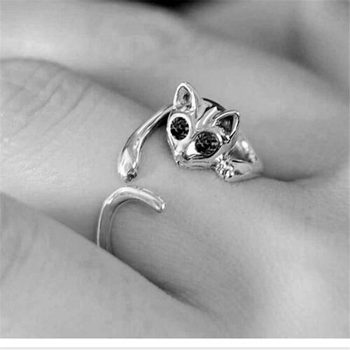 con zirconias anillo