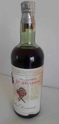 coñac fundador estilo fine champagne botella cerrada 1 litro