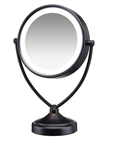 conair natural daylight espejo iluminado de doble cara para