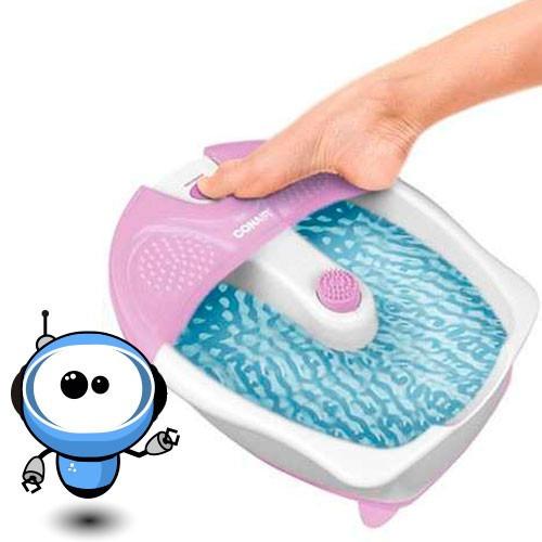 conair spa hidromasaje masajeador para pies foot - burbujas