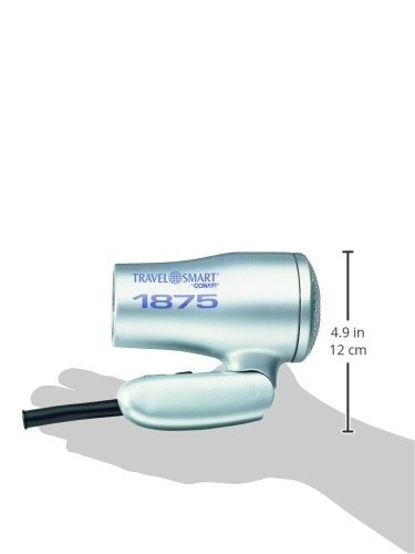 Conair Ts127 1875w Plata Secador - Secador De Pelo (plata e18b213f5f85