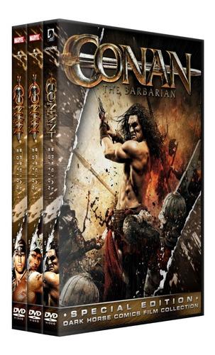 conan 1 2 3 coleccion dvd latino/ingles subt español