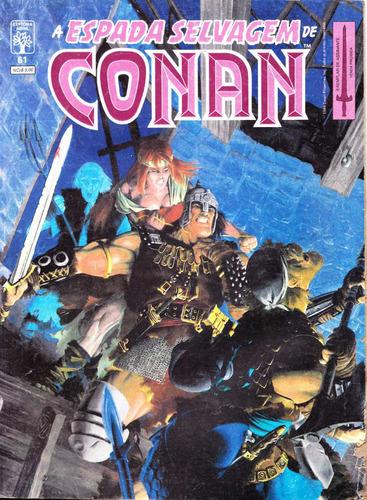 conan #61 - novembro 1989