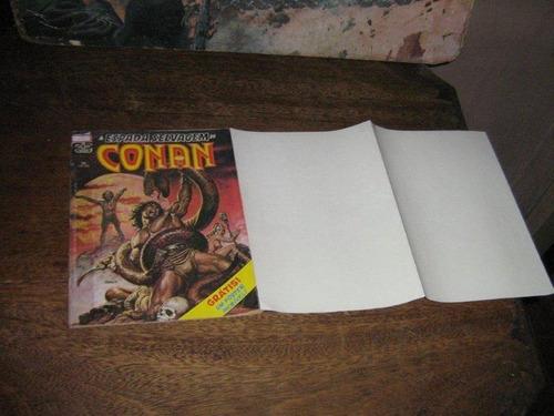 conan a espada selvagem  1ª edição nº 26 ano 1986 c/poster