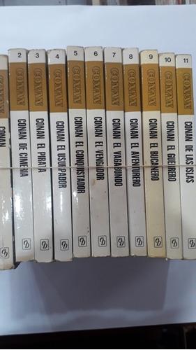 conan - colección completa - 11 tomos - editorial bruguera