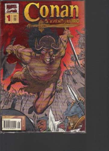 conan o aventureiro n 1 - marvel comics - ed abril jovem