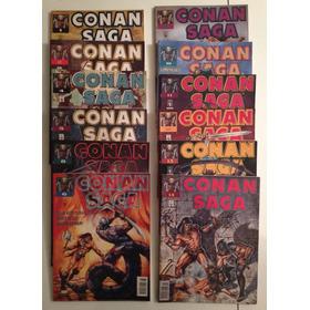 Conan Saga Ed. Abril Vários Números De 1 A 17 - Venda Avulsa