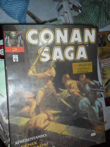 conan saga! vários! r$ 15,00 cada! editora abril 1993!
