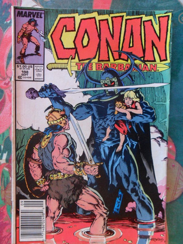 conan the barbarian  nº 198 - original americana  r$ 20,00!
