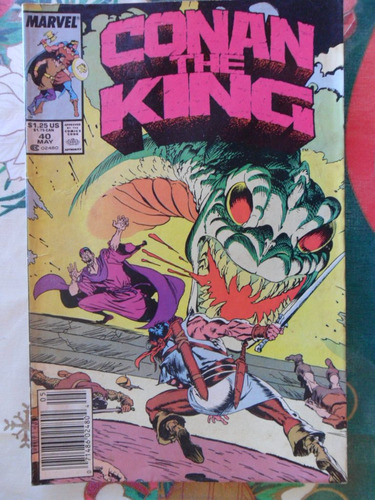 conan the king  nº 40 - original americana  r$ 20,00!