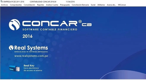concar codebase 2016.04 ultima version