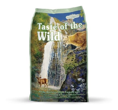 concentrado para gato rocky mtn taste of the wild adultos to