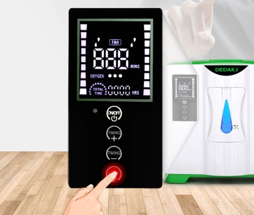 concentrador de oxigeno 9 litros con accesorios
