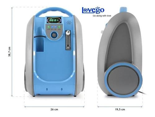 concentrador de oxigeno portatil - entrega inmediata