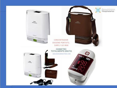 concentrador de oxigeno portatil respironics simply go mini